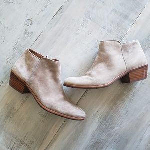 "Sam Edelman | ""Petty"" Suede Leather Ankle Booties"